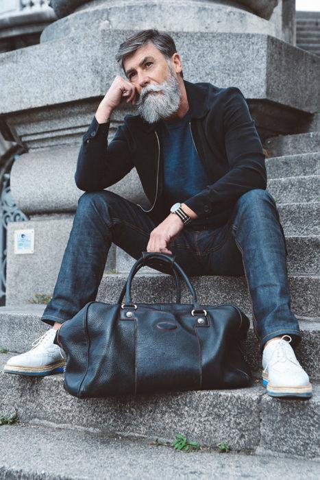 Phillip Dumas modelo de 60 años 2