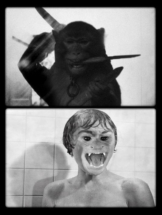 mono, psycho película