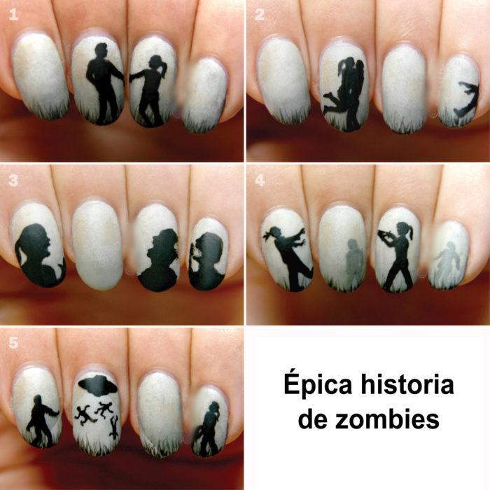 uña historia de zombies