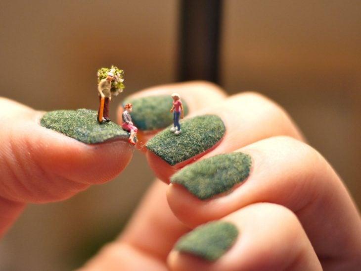nail art día de parque