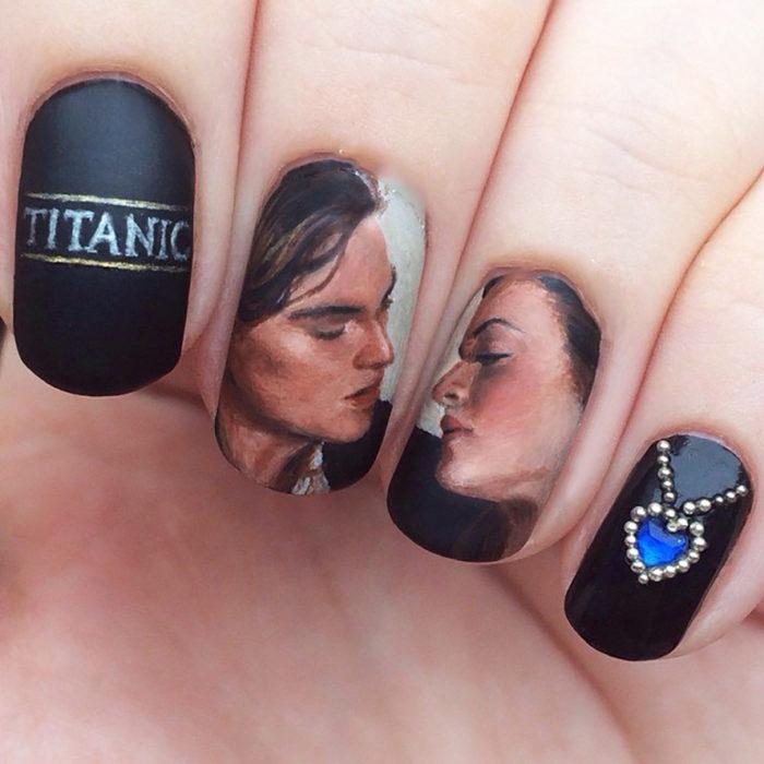 uñas de él titanic