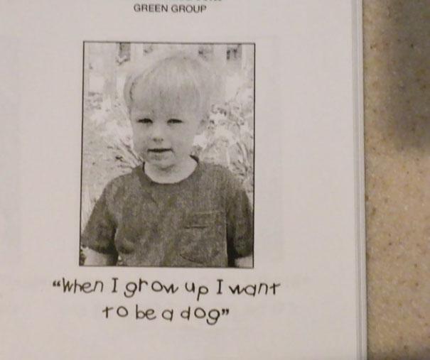Lo que un niño quiere ser de grande 2