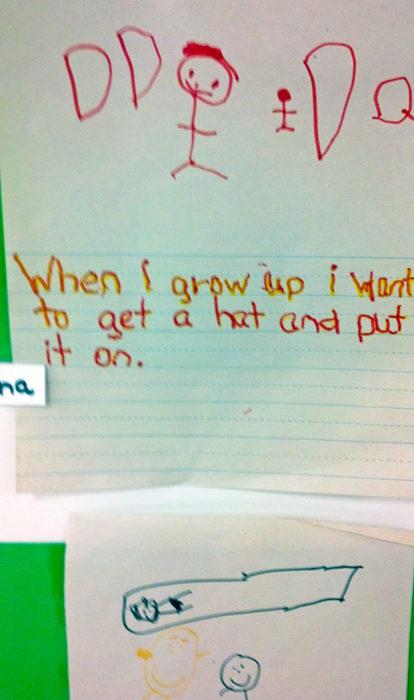 Lo que un niño quiere ser de grande 4