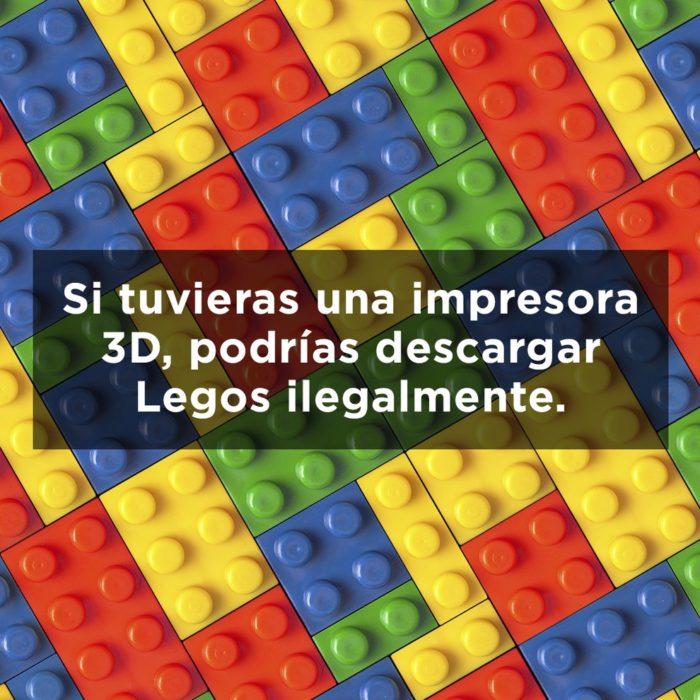 LEGOS DE COLORES