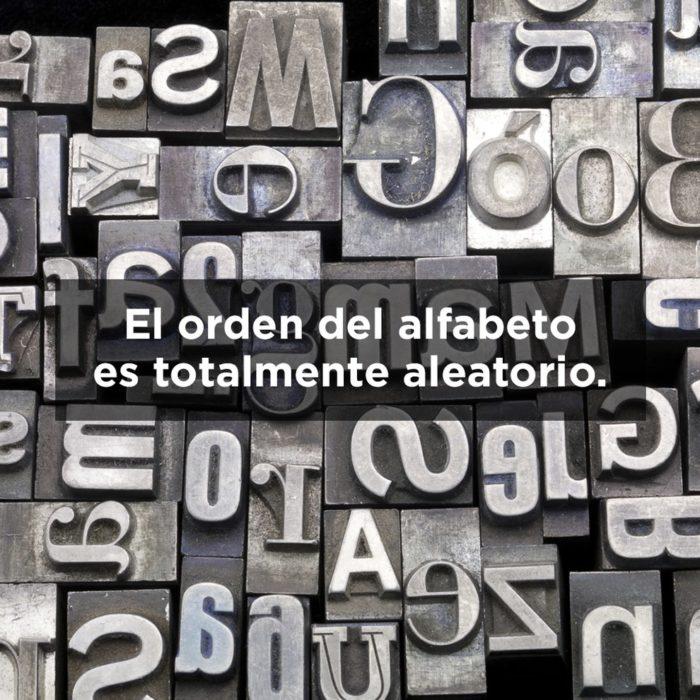 ALFABETO DE MÁQUINA DE ESCRIBIR