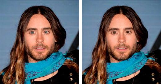Como se ven los famosos si tuvieran los ojos de otro color