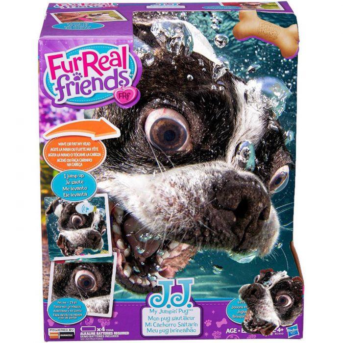 Photoshop la cara de un perro como si fuera un juguete
