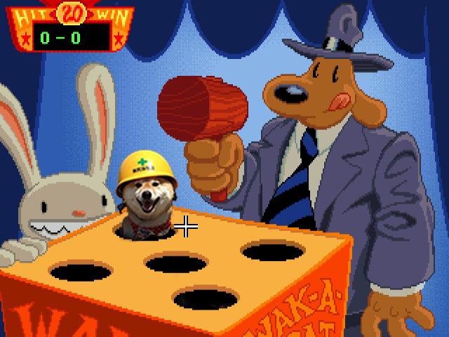 perro con casco en juego