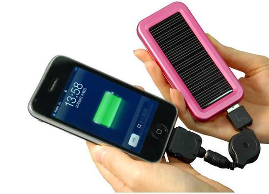 bateria solar para celular