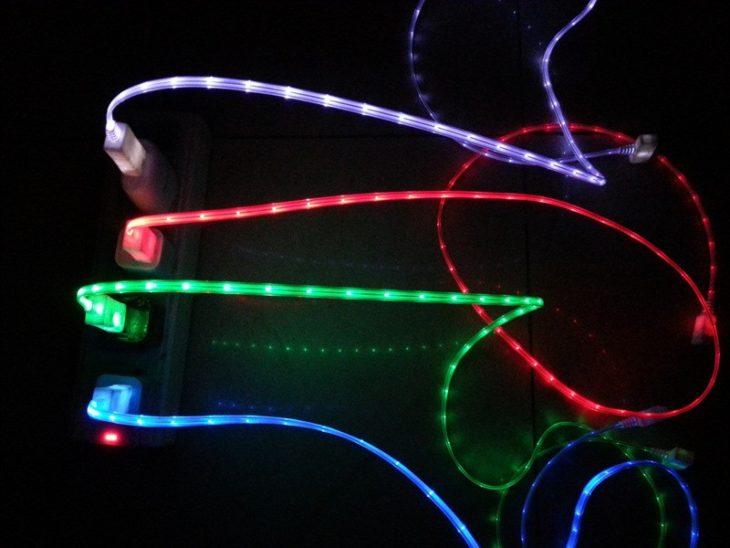 Cable de Luz con luces