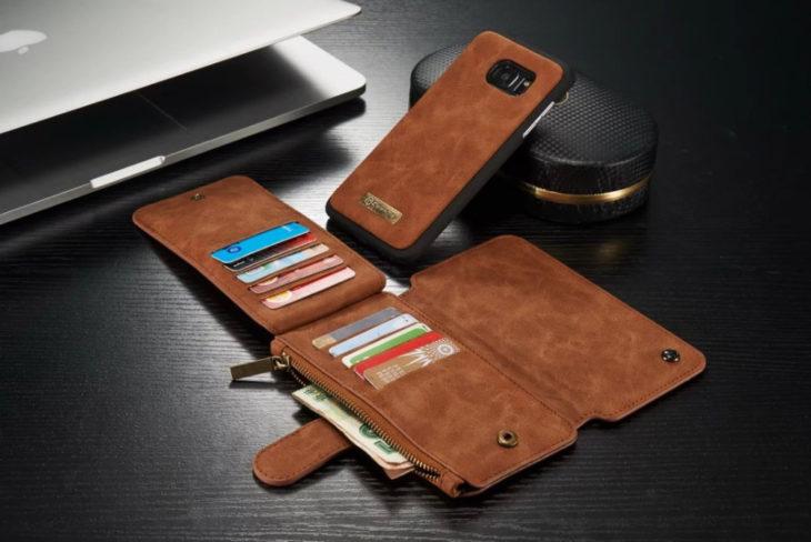 Billetera y funda para celular