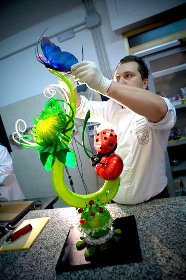 Chef Emmanuele Forcone maestro repostero
