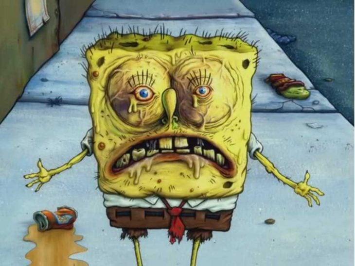 bob esponja resfriado