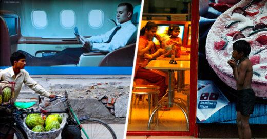 imágenes que demuestran la desigualdad social en el mundo