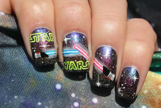 uñas de starwars