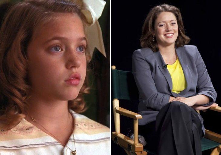 la niña de la pelicula de la princesita antes y ahora