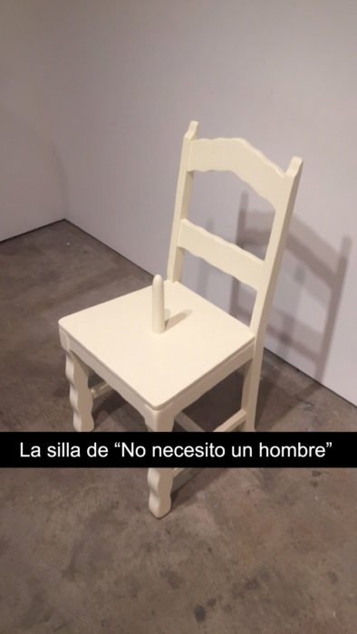 snapchat silla museo de arte