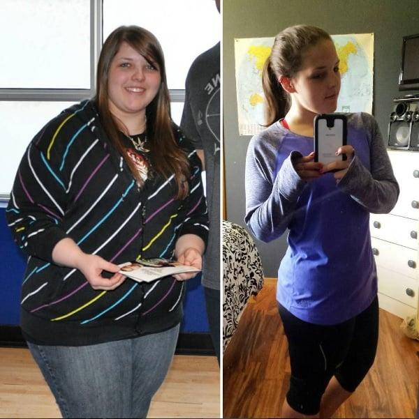 mujer gorda y mujer delgada