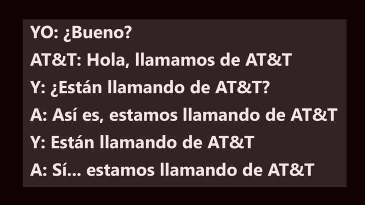Telemarketin. Llamamos de AT&T