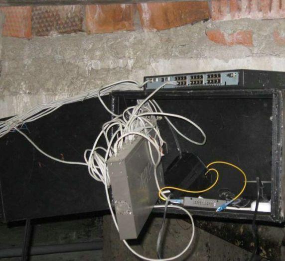 aparato mal instalado