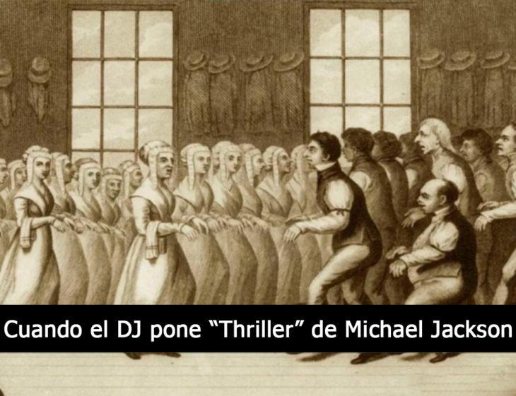 imagen antigua personas bailando