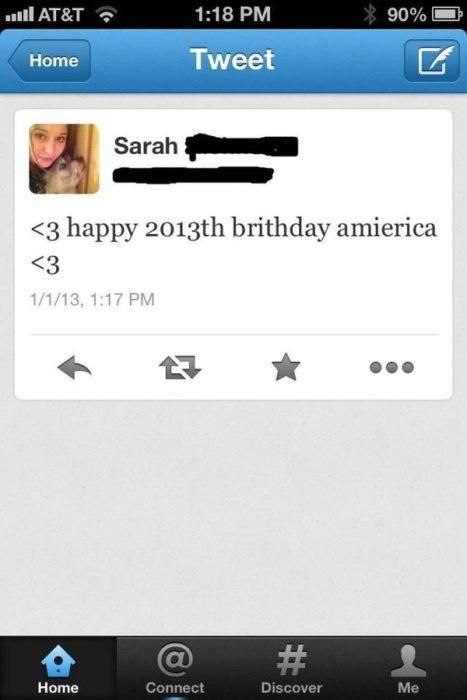 feliz 2013 aniversario america