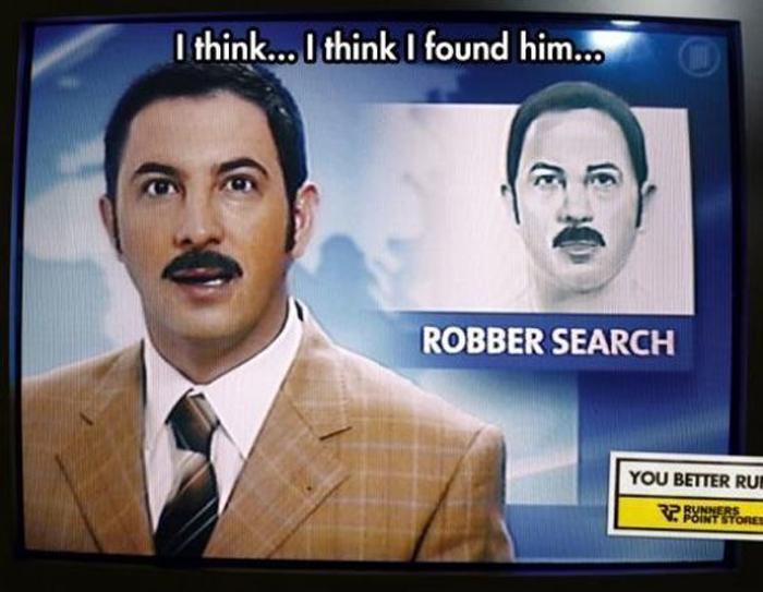se busca ratero se parece al presentador de las noticias