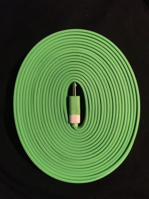 cable enrollado perfectamente