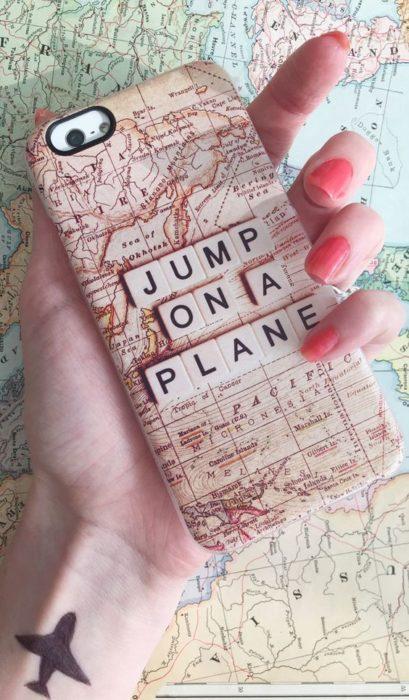funda de celular viaje