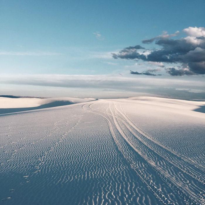 fotografía paisaje nevado