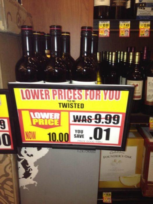 precios engañosos en cervezas