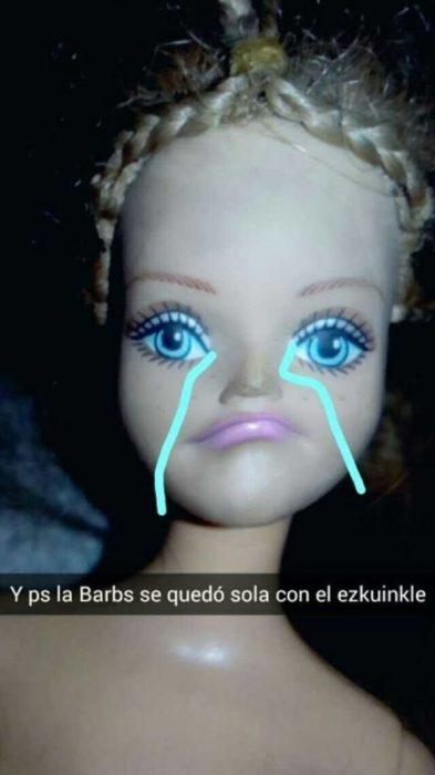 barbie llorando