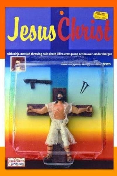 figura de acción de jesucristo