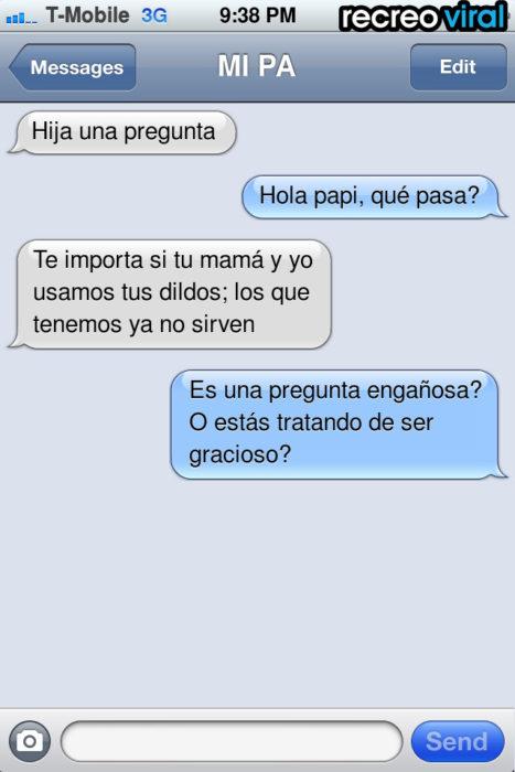 mensaje de texto dildos