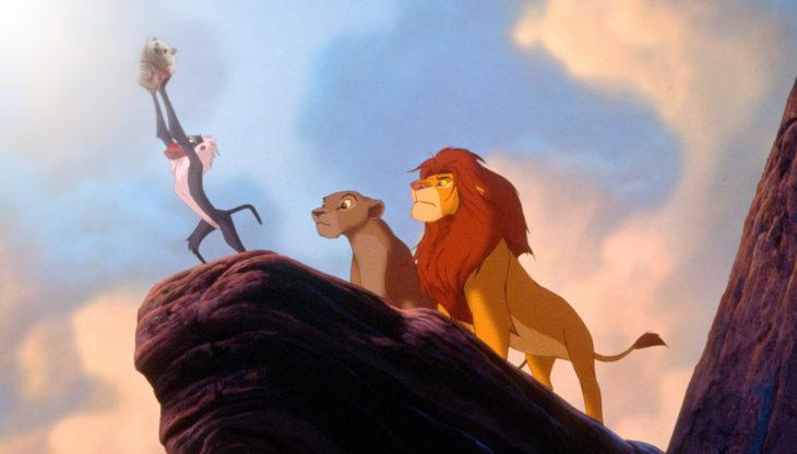 erizo en el rey león