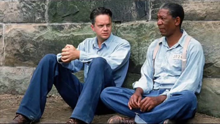 dos amigos, película the shawshank redemption