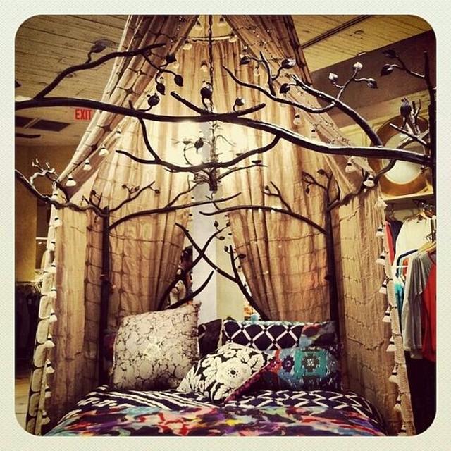 cama bosque