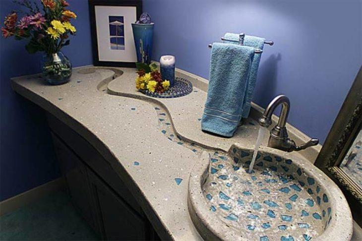 lavabo parece río