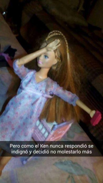 barbie indiganada