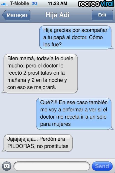 mensaje de texto prostitutas