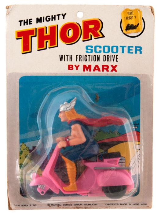 juguete pirata de thor