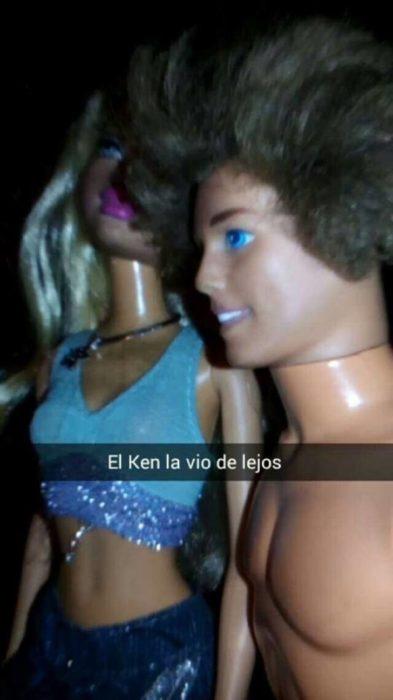 ken la vio de lejos