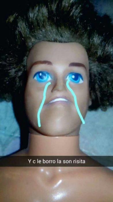 ken llorando por barbie