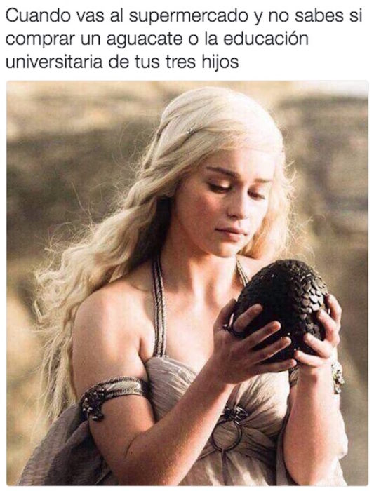 dayenaris con huevo de dragón