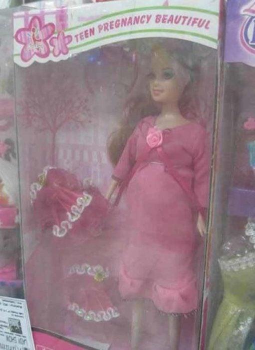 muñaca barbie embarazo adolescente
