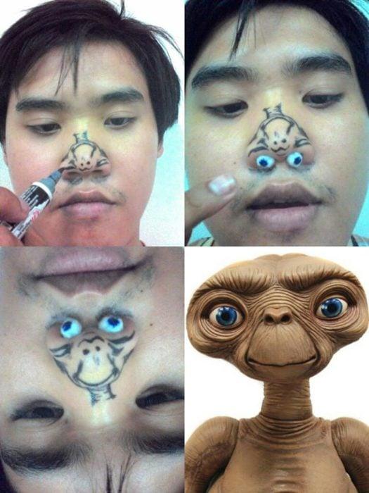 E. T. cosplay barato