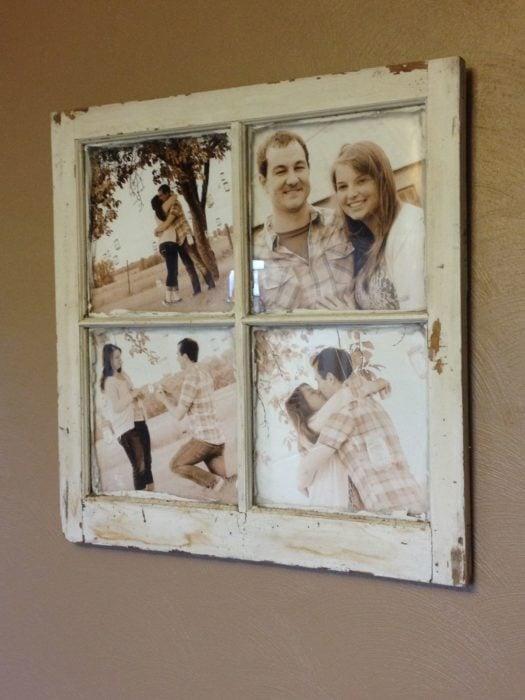 ventana marco para fotos