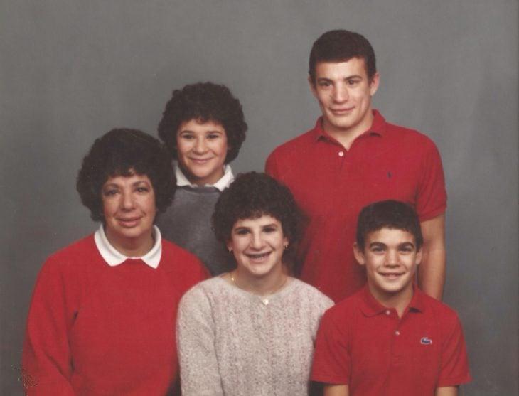 familia retrato el mismo corte