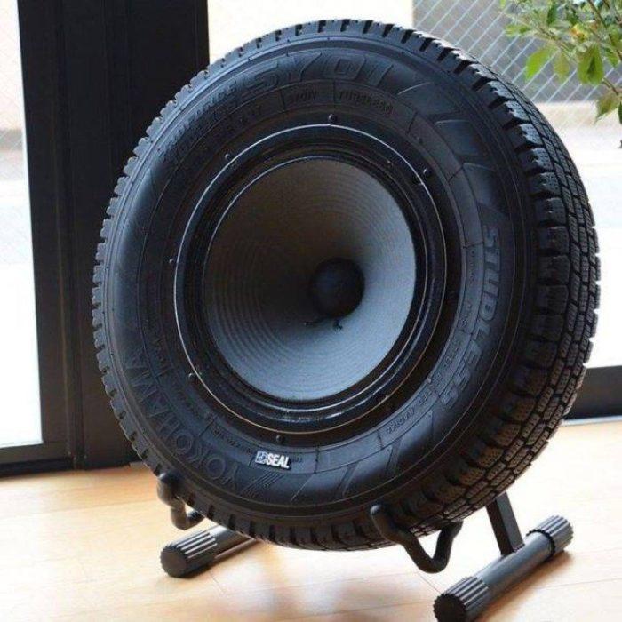 neumático bocina