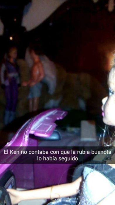 barbie y ken viendolos la buenota